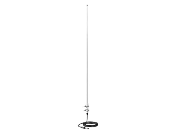 AV300 FIBREGLASS VHF ANTENNA WITH UNIVERSAL BASE