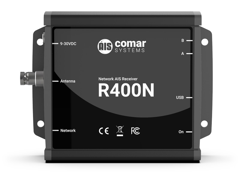 R400N Network AIS Receiver with Ethernet Output - Comar Systems