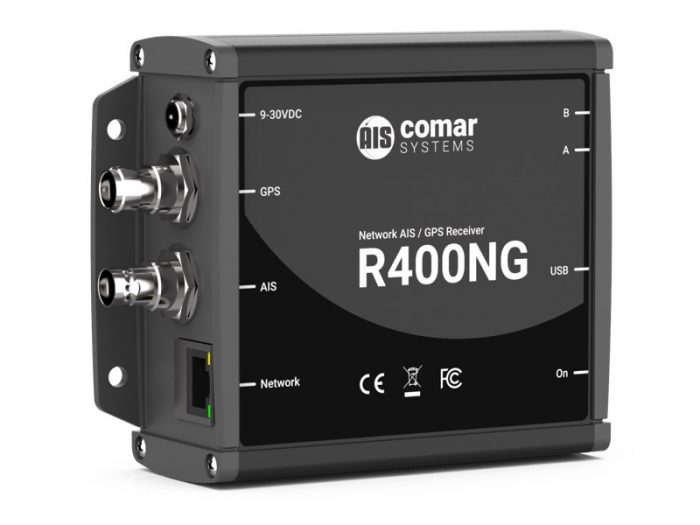 R400NG Network AIS Receiver with Ethernet, GPS & USB
