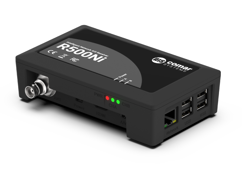 R500Ni Intelligent Network AIS Receiver with WiFi - Comar