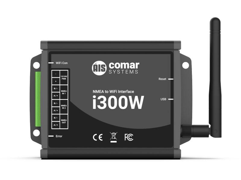 i300W NMEA to WiFi Interface Gateway - Comar Systems