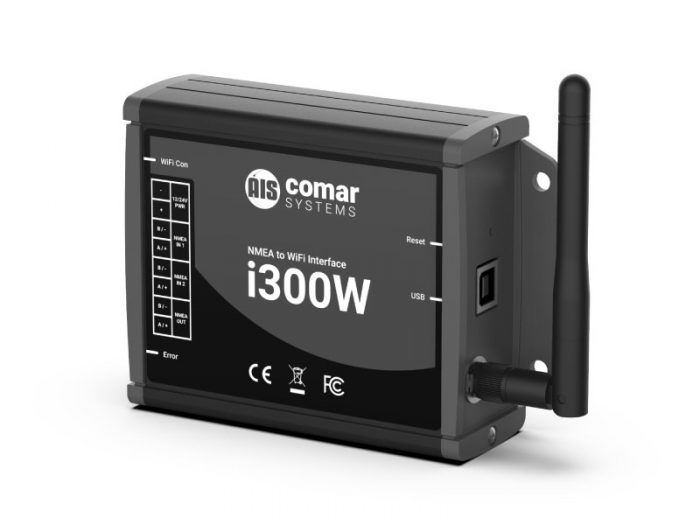 i300W NMEA to WiFi Interface Gateway